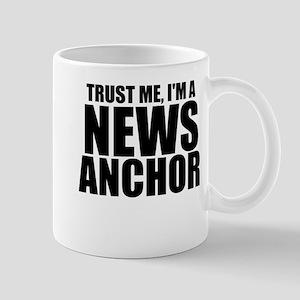 Trust Me, I'm A News Anchor Mugs