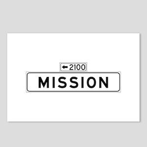 Mission St., San Francisco - USA Postcards (Packa