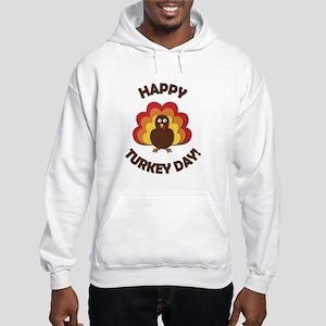 Happy Turkey Day! Hooded Sweatshirt