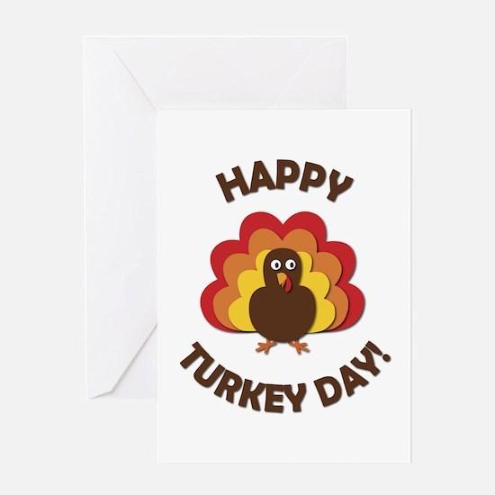 Happy Turkey Day! Greeting Card