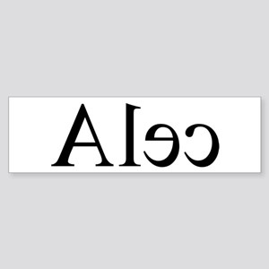 Alec: Mirror Bumper Sticker