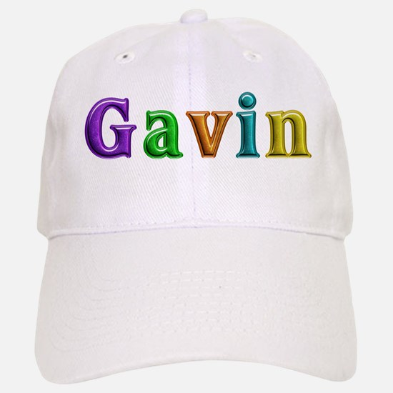 Gavin Shiny Colors Baseball Baseball Baseball Cap