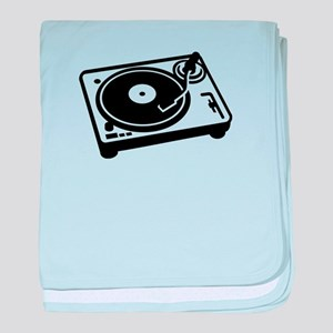 Turntable DJ baby blanket