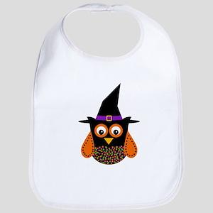Adorable Halloween Owl Bib