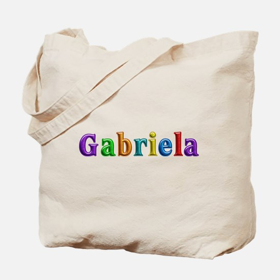 Gabriela Shiny Colors Tote Bag
