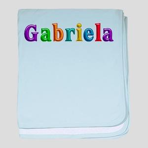 Gabriela Shiny Colors baby blanket