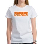 Orange Thrust Women's T-Shirt