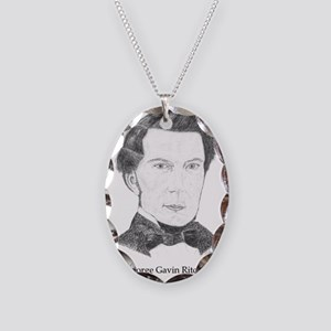 George Gavin Ritchie Necklace Oval Charm