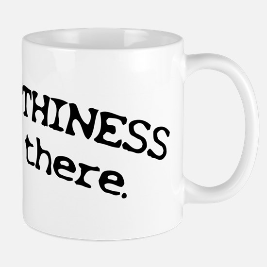 Truthiness is Out There Mug