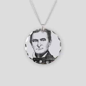 John Brown Necklace Circle Charm