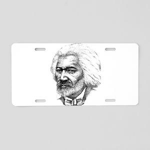 Frederick Douglass Aluminum License Plate