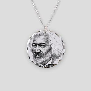 Frederick Douglass Necklace Circle Charm