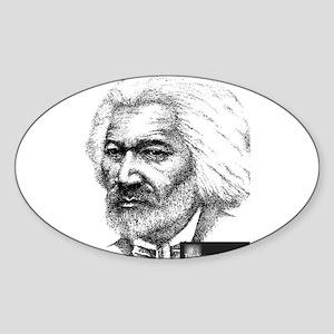 Frederick Douglass Sticker (Oval)