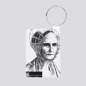 Lucretia Coffin Mott Aluminum Photo Keychain