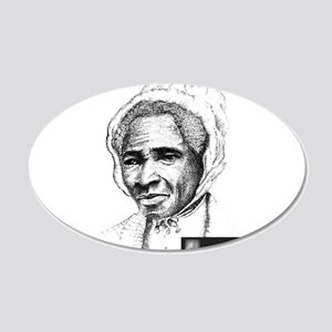 Sojourner Truth 20x12 Oval Wall Decal