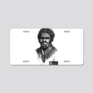 Tubman with Logo2 Aluminum License Plate