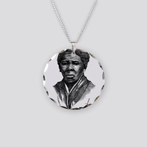 Tubman with Logo2 Necklace Circle Charm