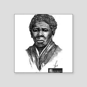 """Harriet Tubman Square Sticker 3"""" x 3"""""""