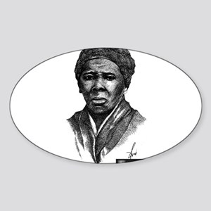 Harriet Tubman Sticker (Oval)