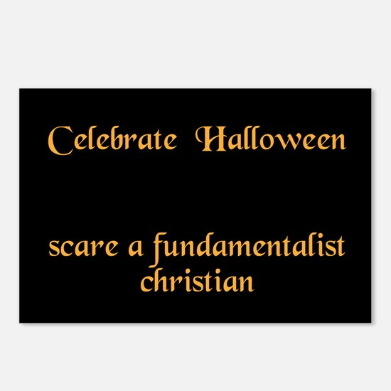 halloween card Postcards (Package of 8)