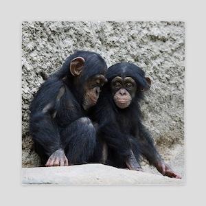 Chimpanzee002 Queen Duvet