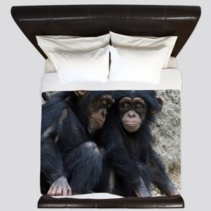 Chimpanzee002 King Duvet