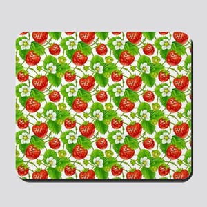 Strawberry Pattern Mousepad