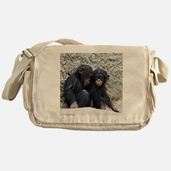 Chimpanzee002 Messenger Bag