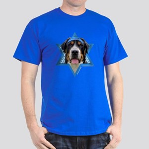 Hanukkah Star of David - Swissie Dark T-Shirt