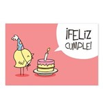 Feliz cumple! Postcards (Package of 8)