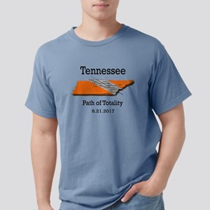 solar eclipse tennessee Mens Comfort Colors Shirt