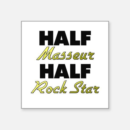 Half Masseur Half Rock Star Sticker