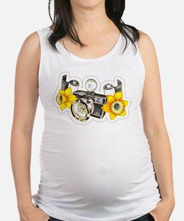 Cute Abstract photograph Maternity Tank Top