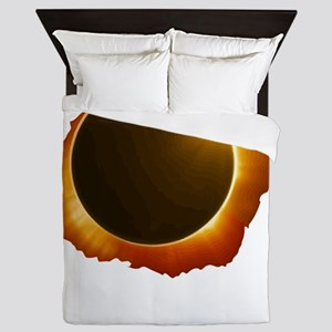 total eclipse Queen Duvet
