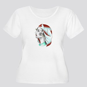Women's Plus Size Scoop Neck T-Shirt