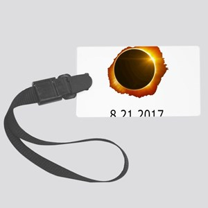 total eclipse Large Luggage Tag
