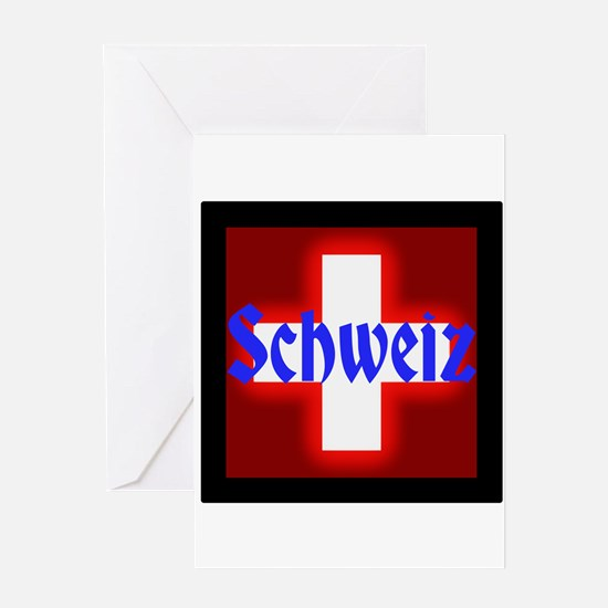 Schweiz Greeting Cards
