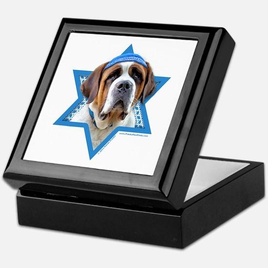 Hanukkah Star of David - St Bernard Keepsake Box