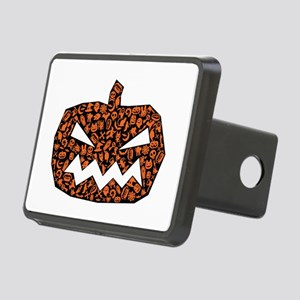 Angry Pumpkin Hitch Cover