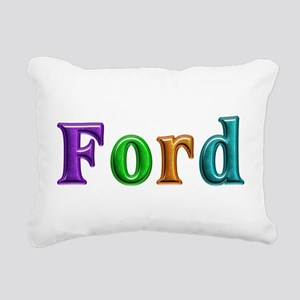 Ford Shiny Colors Rectangular Canvas Pillow