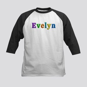 Evelyn Shiny Colors Baseball Jersey