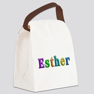 Esther Shiny Colors Canvas Lunch Bag