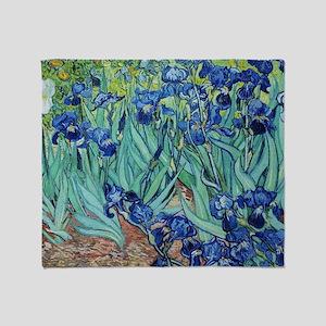 Irises, Vincent van Gogh. famous vintage floral oi