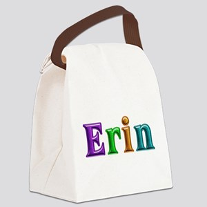 Erin Shiny Colors Canvas Lunch Bag