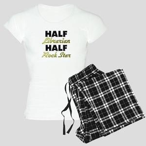 Half Librarian Half Rock Star Pajamas