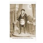 Brother Ben Franklin Postcards (Package of 8)