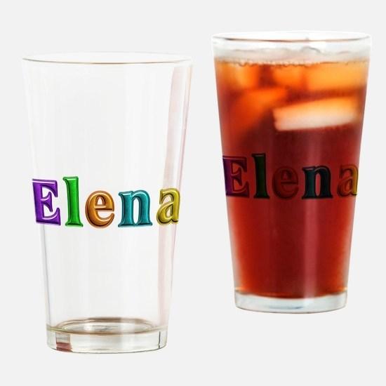 Elena Shiny Colors Drinking Glass