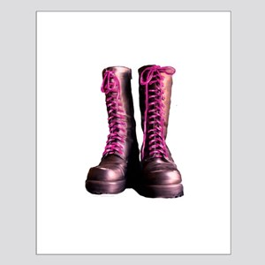 Pink Laces Small Poster