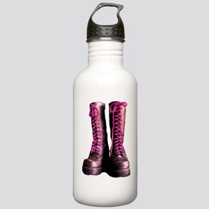Pink Laces Stainless Water Bottle 1.0L