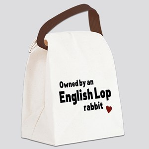 English Lop rabbit Canvas Lunch Bag